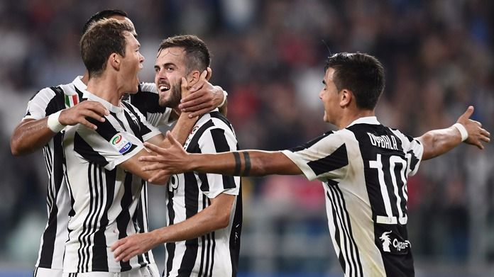Udinese-Juve 1-2 all'intervallo, un autogol e Khedira rispondono a Perica