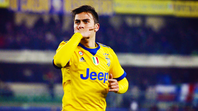Dybala infortunio
