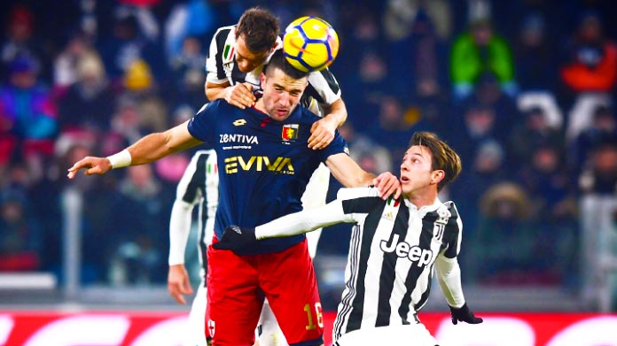 Genoa, Bertolacci: