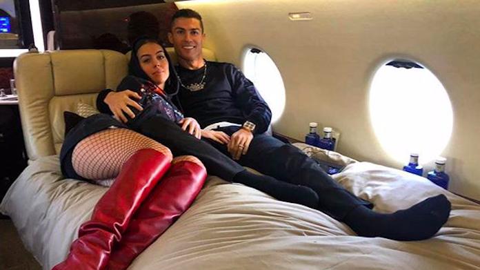 Cristiano Ronaldo - Georgina felici a Torino: