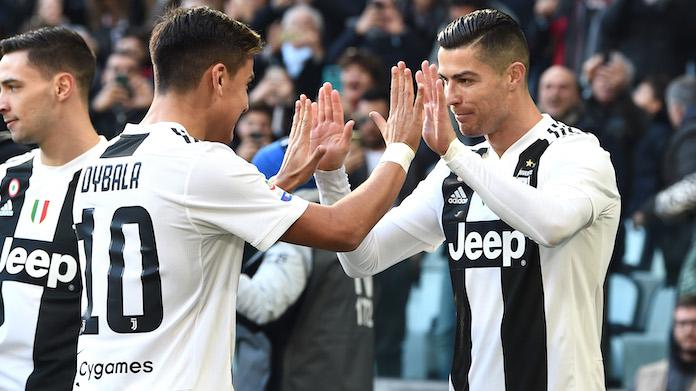Pagelle Juve Frosinone: Dybala spettacolare, Ronaldo affamato VOTI