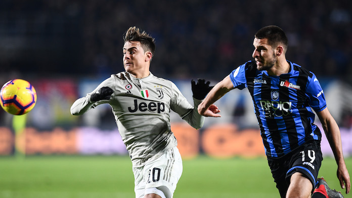 Atalanta-Juventus (Credit:  www.imagephotoagency.it)
