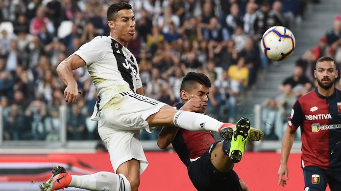 Cristiano Ronaldo-Cristian Romero