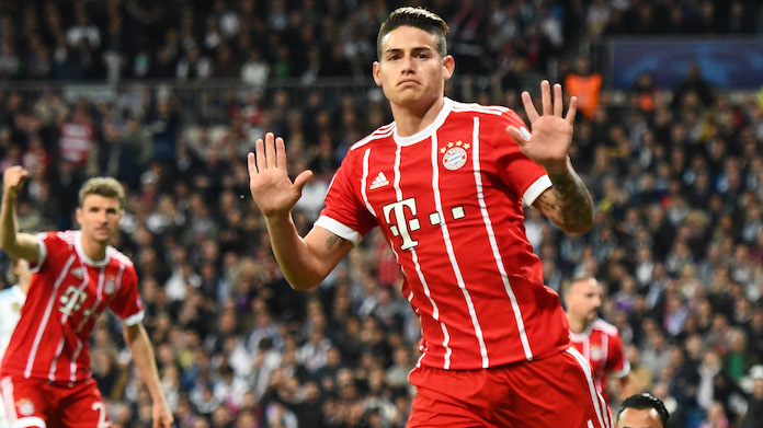 James saluta il Bayern: