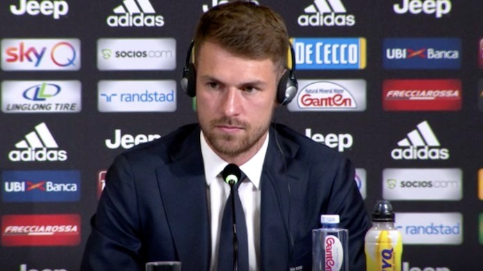 Juventus, Ramsey in conferenza: