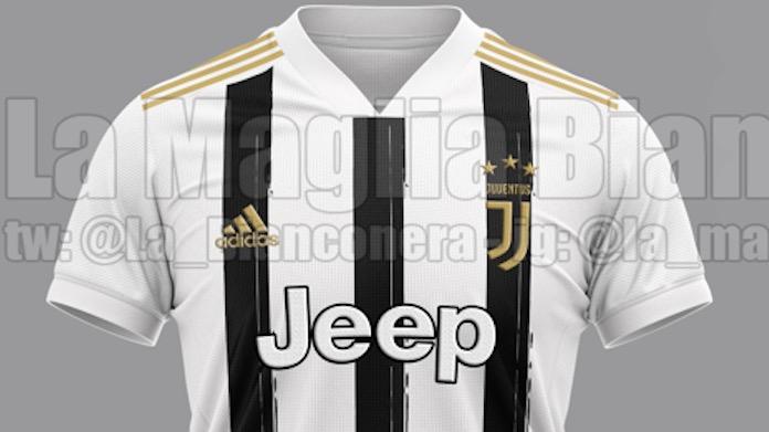 Nuova divisa Juve: i particolari del kit gara del prossimo anno - FOTO