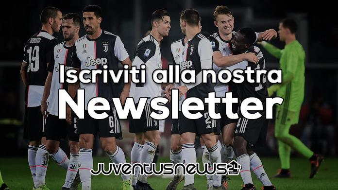 Newsletter Juventus News 24