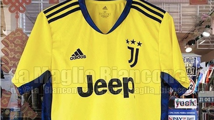 Maglia portiere Juventus 2020/21: stile Champions del '96 - FOTO