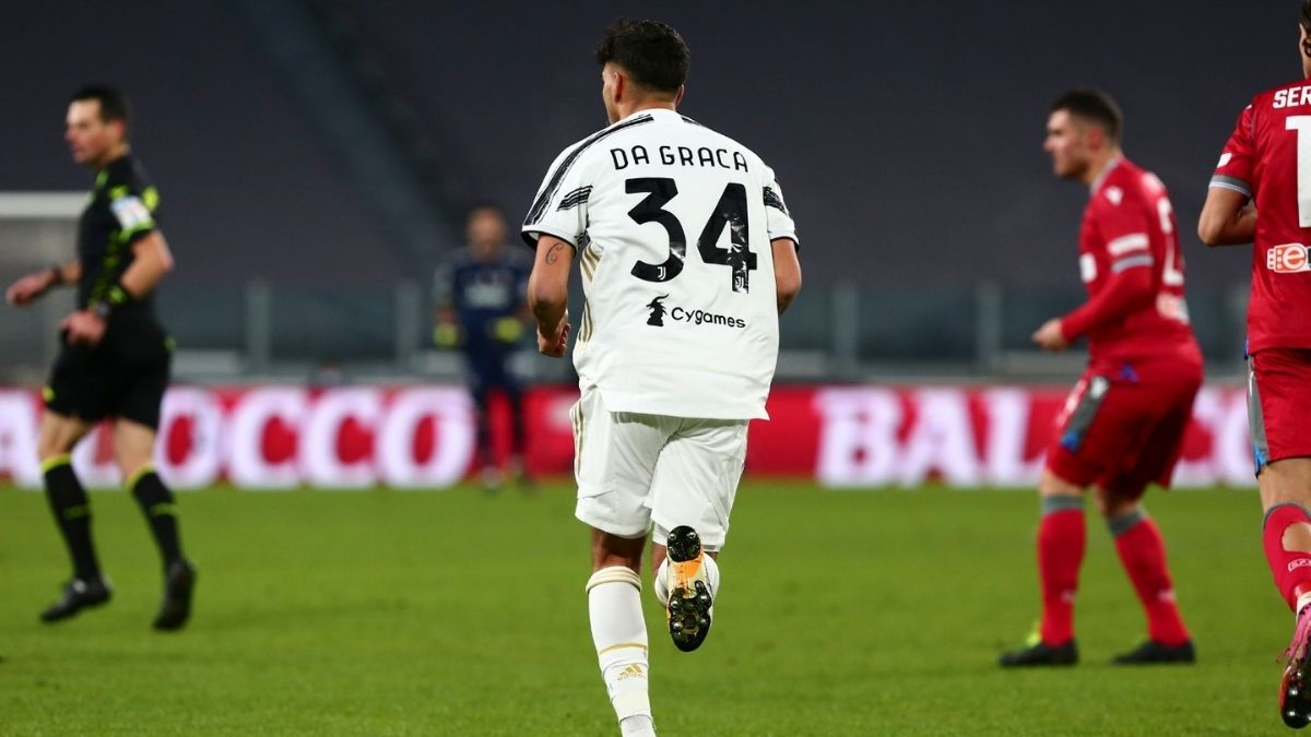 Marco Da Graca, attaccante classe 2002 della Juventus Under 23