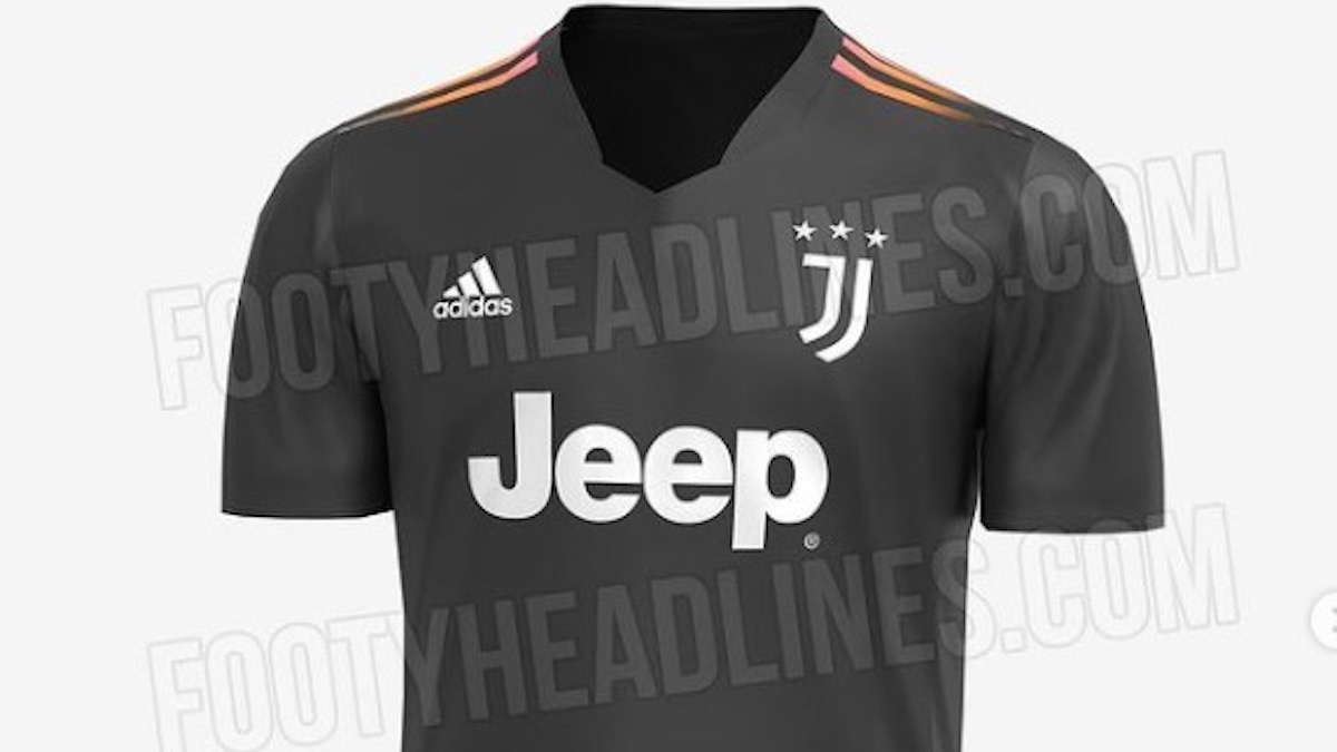 Seconda maglia Juventus 2021 2022: ecco l'ultima anteprima - FOTO
