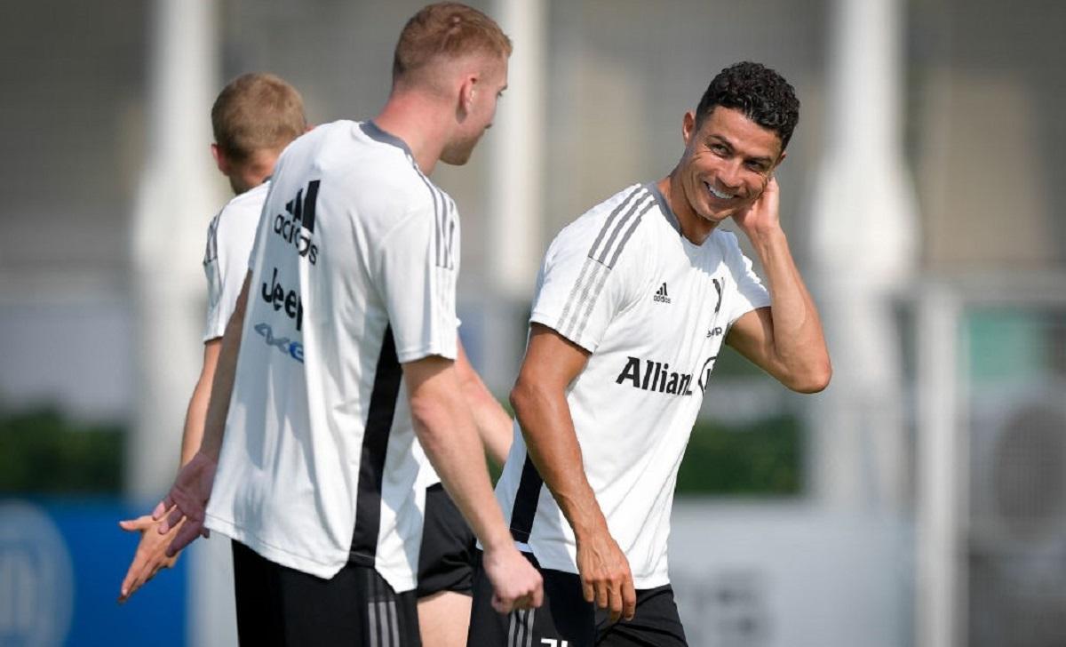 Allenamento Juve: Soulè osserva Ronaldo, McKennie carico - GALLERY